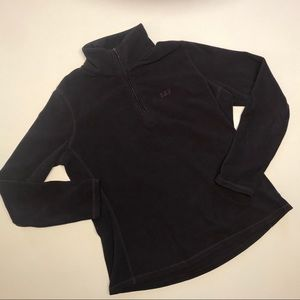 Gap Purple Fleece 1/4 Zip-Size Large